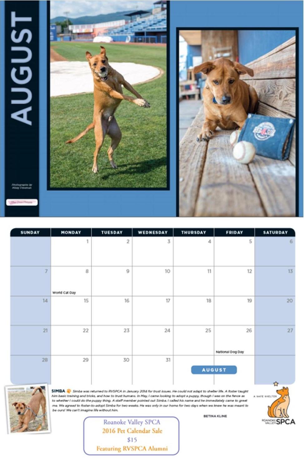 Calendar Full Size