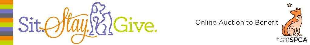 Sit Stay Give logo